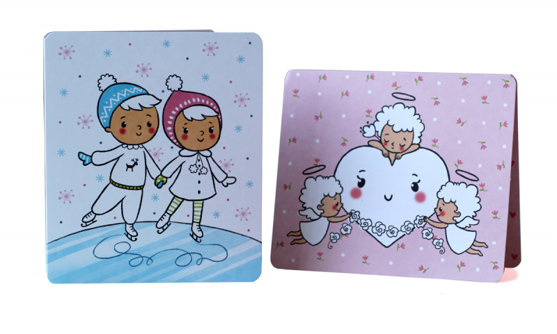 25 открыток-раскрасок на все праздники можно