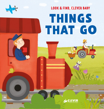 Look and find, Clever baby: Things That Go