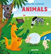 Look and find, Clever baby: Animals
