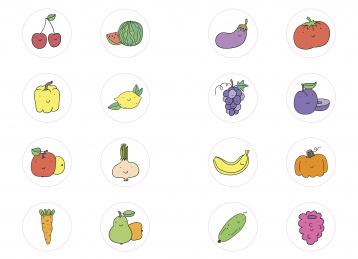 Самая первая раскраска. Овощи, фрукты и ягоды - купить ...